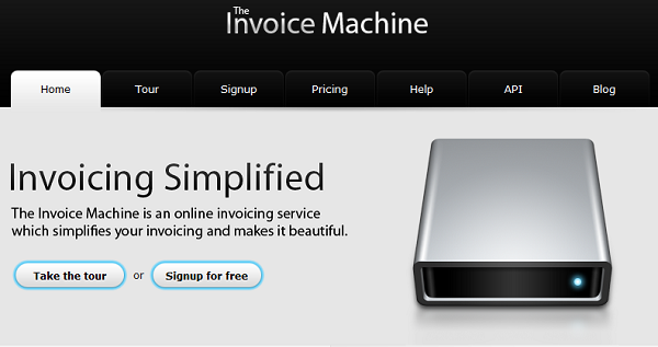 6. The Invoice Machine-Best Online Invoicing Software