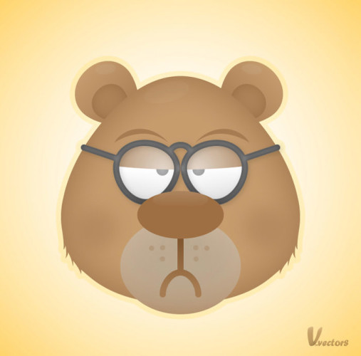 7-face-of-a-grumpy-bear
