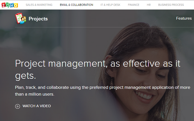 Zoho Projects-Project Management Software