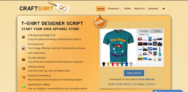 8. CraftShirt