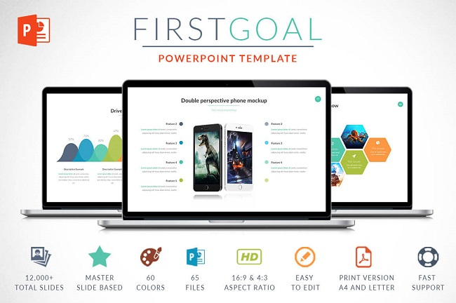 Featured PowerPoint Templates and Themes