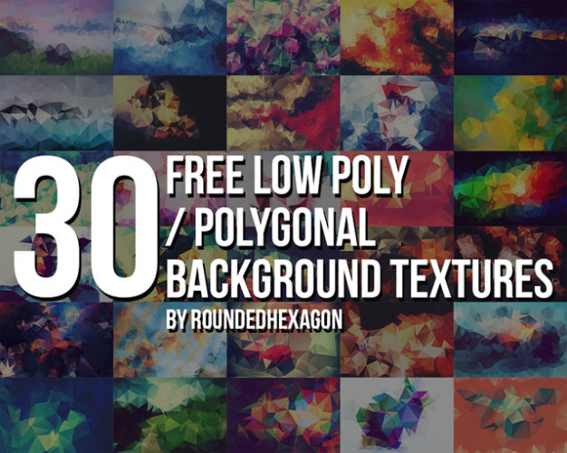8. Free Low Poly Textures