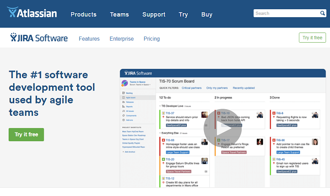 Jira-Project Management Software