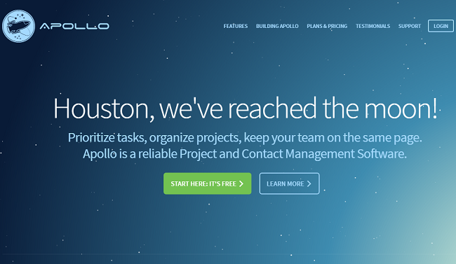 Apollo-Project Management Software