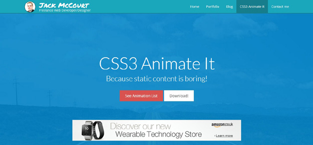 CSS3 Animate It-jQuery Plugin