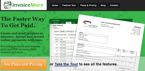 Invoicemore-Best Online Invoicing Software