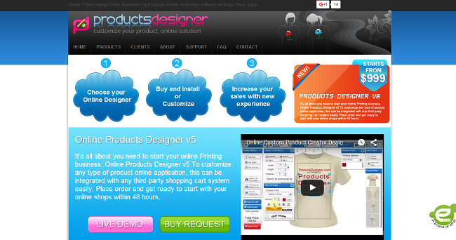 9. Products designer