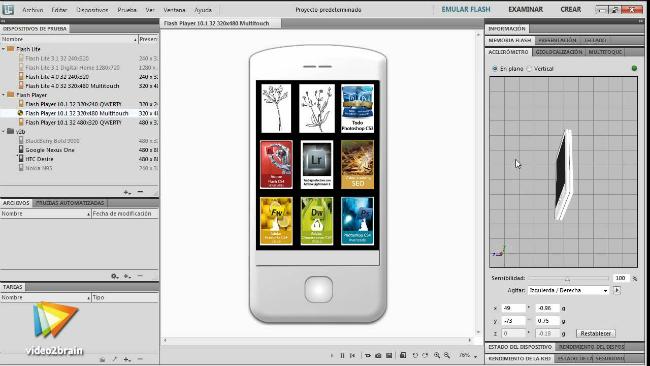Adobe device central cs5