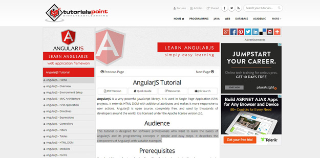 AngularJS-Tutorial