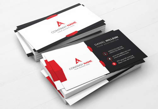 20 best corporate business cards designs for your inspiration corporate business card template cheaphphosting Gallery
