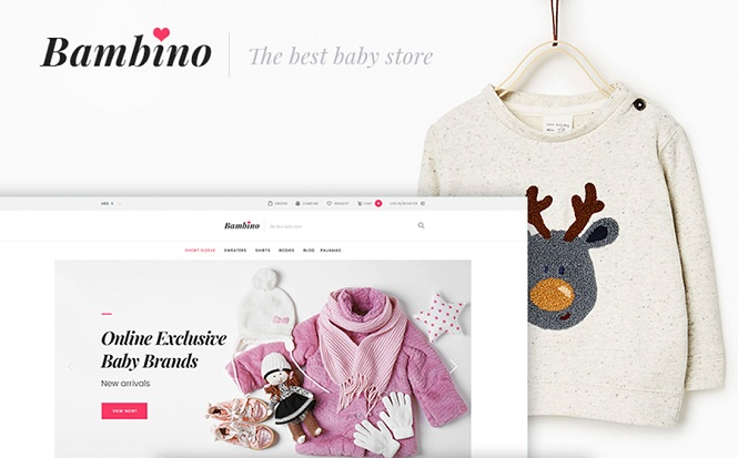 Bambino - Excellent WooCommerce Theme