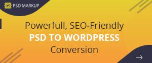 PSD Markup - PSD to WordPress