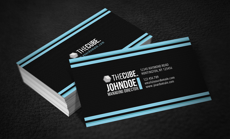 20 great examples of striped business card designs reheart Images