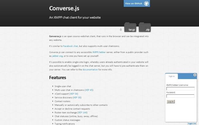 Converse JS