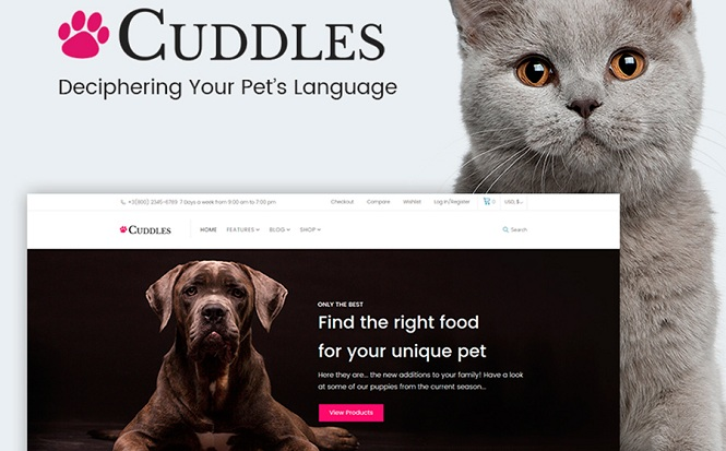 Cuddles - Lovable WooCommerce Theme