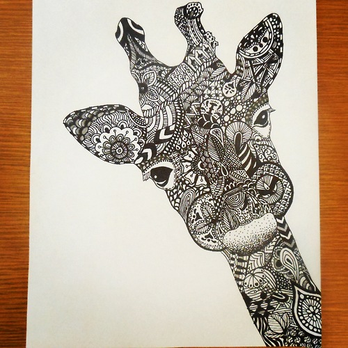 Gallery For gt Cool Patterns To Draw With Sharpie