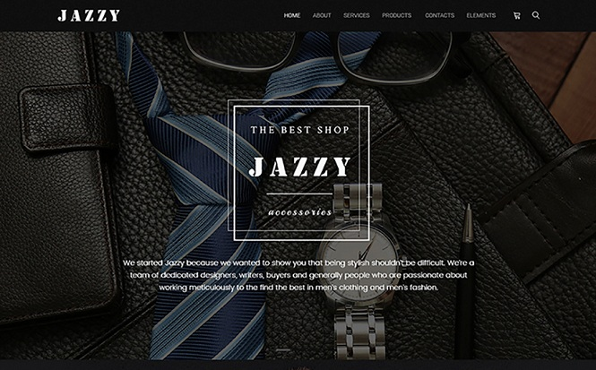 Jazzy - Unusual WooCommerce Theme