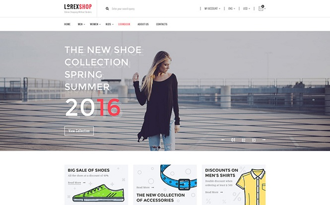 LorexShop - Fashionable WooCommerce Theme