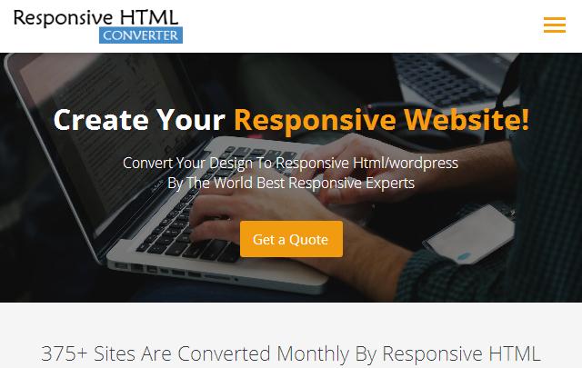ResponsiveHtmlConverter