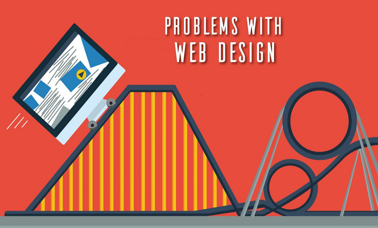 Web design problems