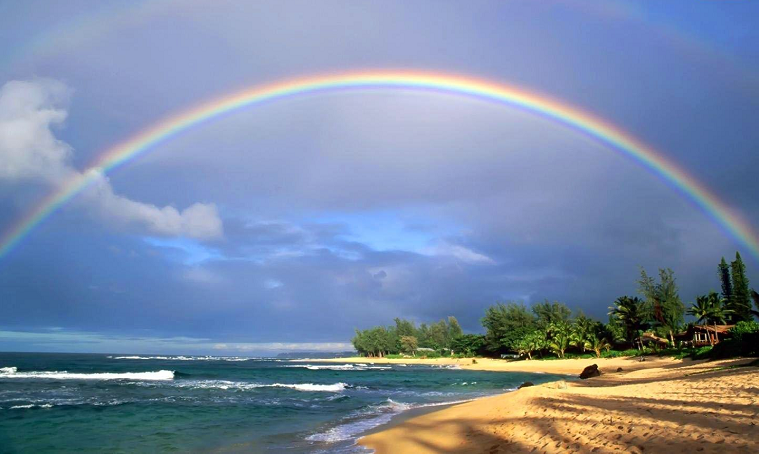 example of rainbow photography