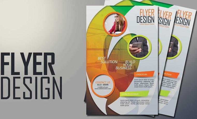 14 examples of attractive flyer design