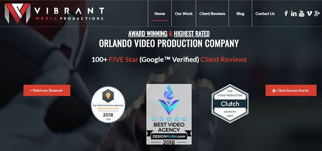 vibrant media production